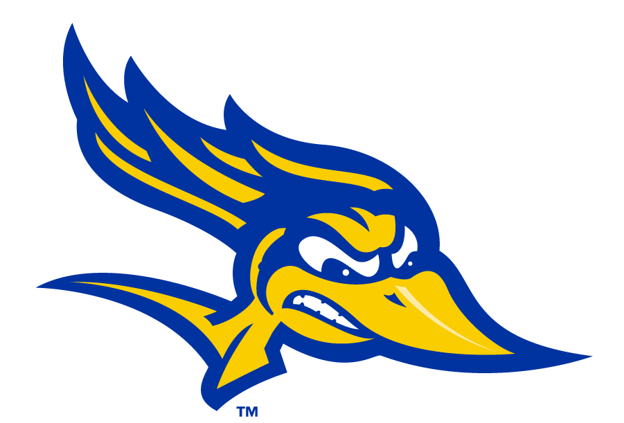 CSU Bakersfield Roadrunners Logo Secondary Logo (2006-2017) - Roadrunner head-only logo. This served as a Secondary until 2017 which then became the Primary. SportsLogos.Net