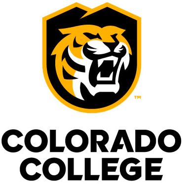 Colorado College  Tigers  Logo Primary Logo (2020-Pres) - An orange tiger head with black stripes inside a black and orange shield  SportsLogos.Net