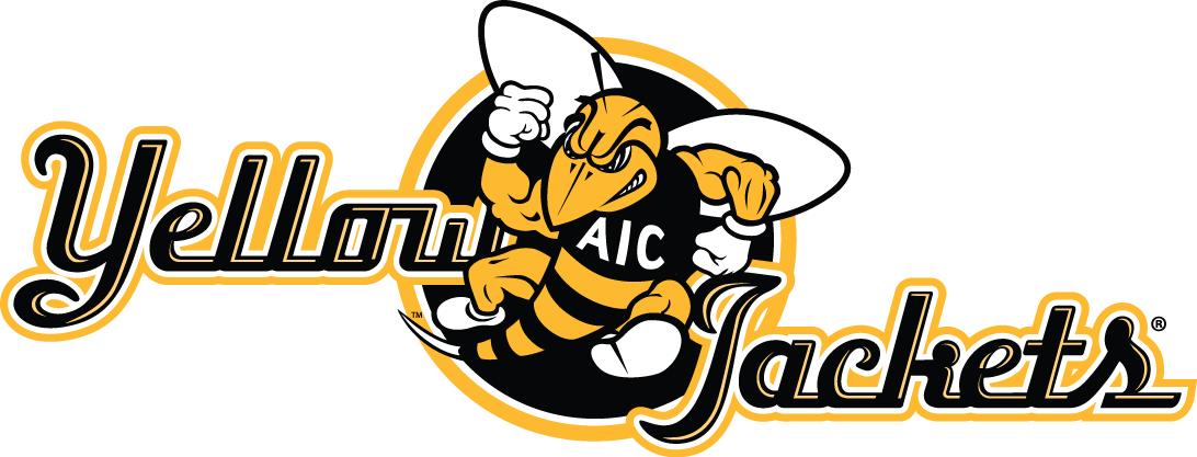 AIC Yellow Jackets Logo Alternate Logo (2009-Pres) -  SportsLogos.Net