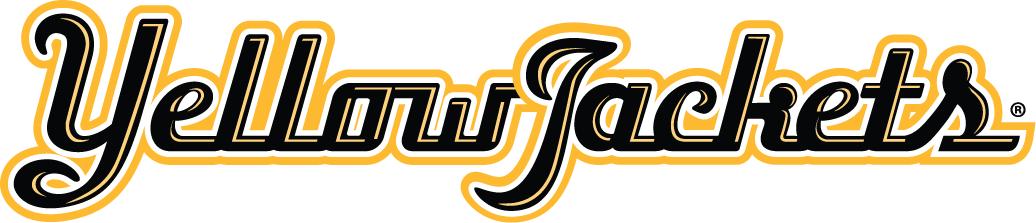 AIC Yellow Jackets Logo Wordmark Logo (2009-Pres) -  SportsLogos.Net