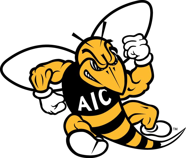 AIC  Yellow Jackets Logo Primary Logo (2009-Pres) -  SportsLogos.Net