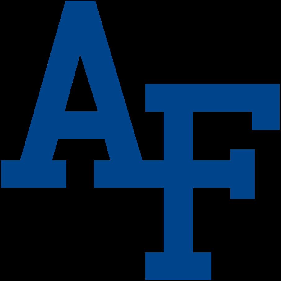 Air Force Falcons Logo Primary Logo (2018-Pres) - AF interlocked in blue SportsLogos.Net