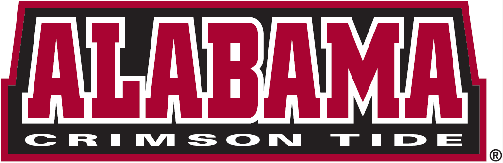 Alabama Crimson Tide Wordmark Logo Ncaa Division I A C Ncaa A C