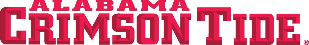 Alabama Crimson Tide Logo Wordmark Logo (2001-Pres) -  SportsLogos.Net