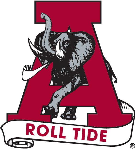 Alabama Crimson Tide Logo Alternate Logo (1974-2000) -  SportsLogos.Net