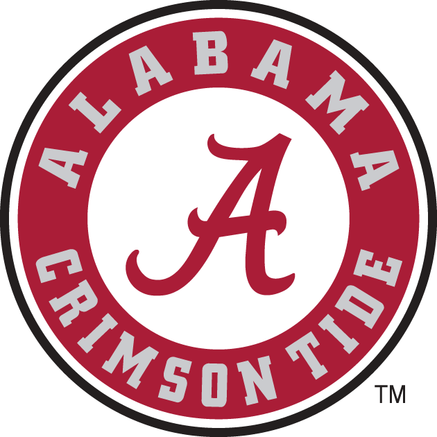 Alabama Crimson Tide Logo Secondary Logo (2001-2003) -  SportsLogos.Net
