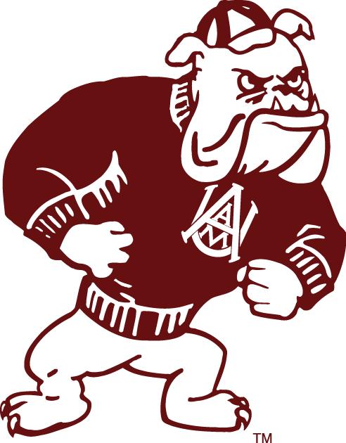 Alabama A&M Bulldogs Logo Secondary Logo (1972-Pres) -  SportsLogos.Net