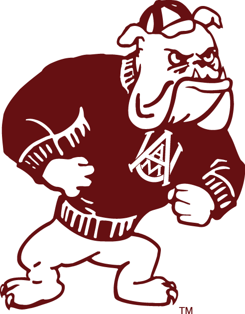 Alabama Am Bulldogs Secondary Logo Ncaa Division I A C Ncaa