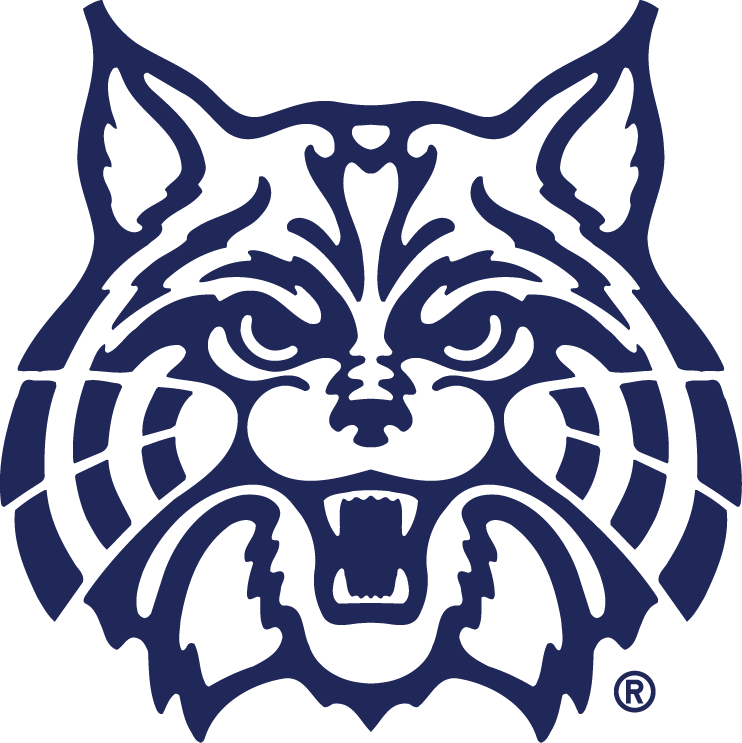 Arizona Wildcats Logo Secondary Logo (1990-Pres) - A angry wildcat's head SportsLogos.Net