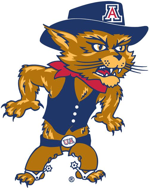Arizona Wildcats Logo Mascot Logo (2003-2012) - Wilbur logo 1 SportsLogos.Net