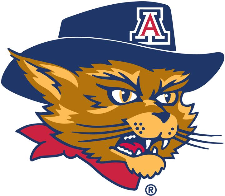 Arizona Wildcats Logo Mascot Logo (2003-2012) - Wilbur logo 2 SportsLogos.Net