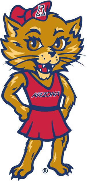 Arizona Wildcats Logo Mascot Logo (2003-2012) - Wilma logo 1 SportsLogos.Net