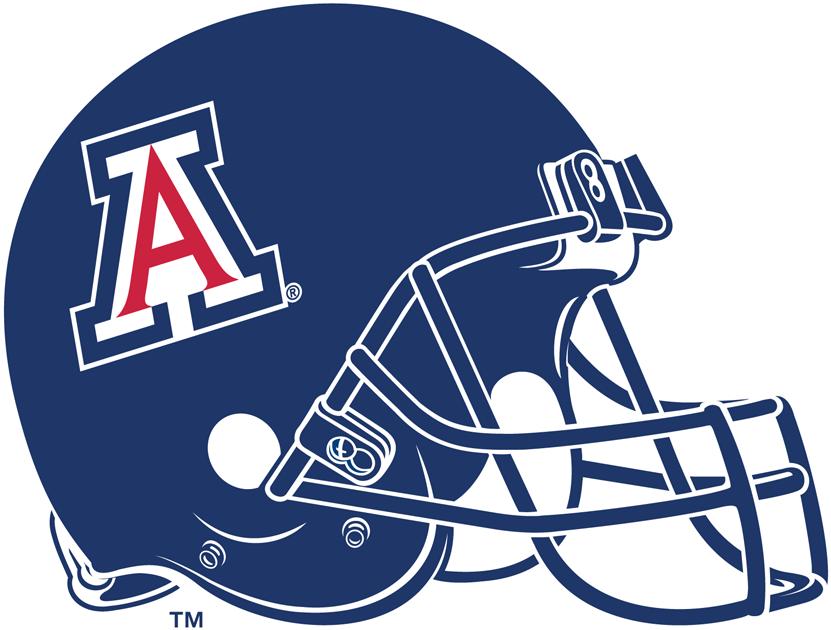 Arizona Wildcats Helmet Helmet (2004-Pres) - Primary A logo on all-blue helmet SportsLogos.Net