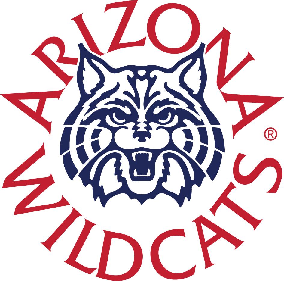Arizona Wildcats Logo Alternate Logo (1990-2012) - A angry wildcat's head ringed with script SportsLogos.Net