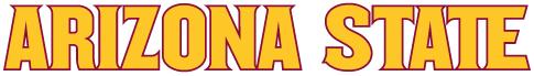 Arizona State Sun Devils Logo Wordmark Logo (2011-Pres) -  SportsLogos.Net