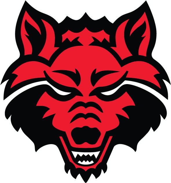 Arkansas State Red Wolves Logo Primary Logo (2008-Pres) -  SportsLogos.Net