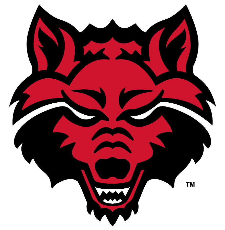 Arkansas State Red Wolves Logo Alternate Logo (2008-2015) - On January 31, 2008, Arkansas State University\\\'s Mascot Selection Steering Committee decided to use the \\\