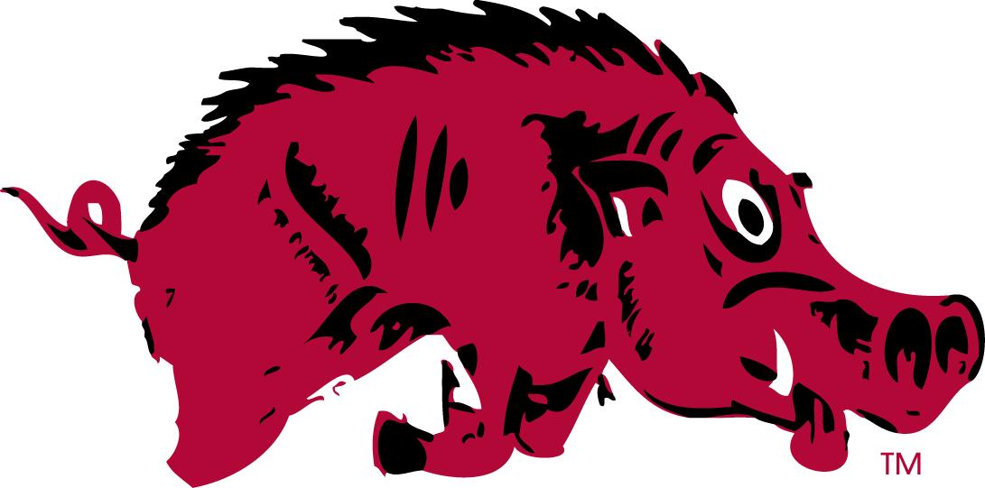 Arkansas Razorbacks Logo Primary Logo (1931-1937) -  SportsLogos.Net