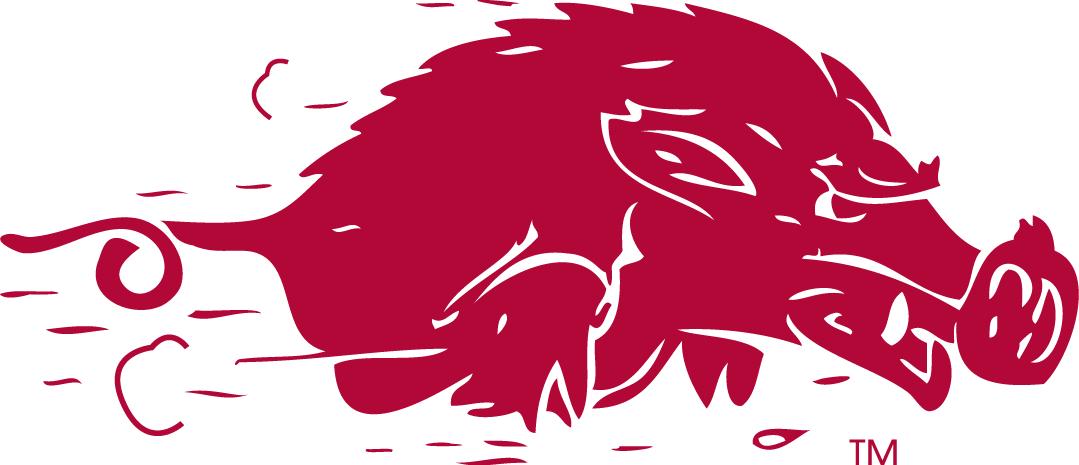 Arkansas Razorbacks Logo Primary Logo (1947-1954) -  SportsLogos.Net