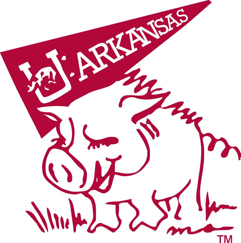 Arkansas Razorbacks Logo Mascot Logo (1969-1974) -  SportsLogos.Net