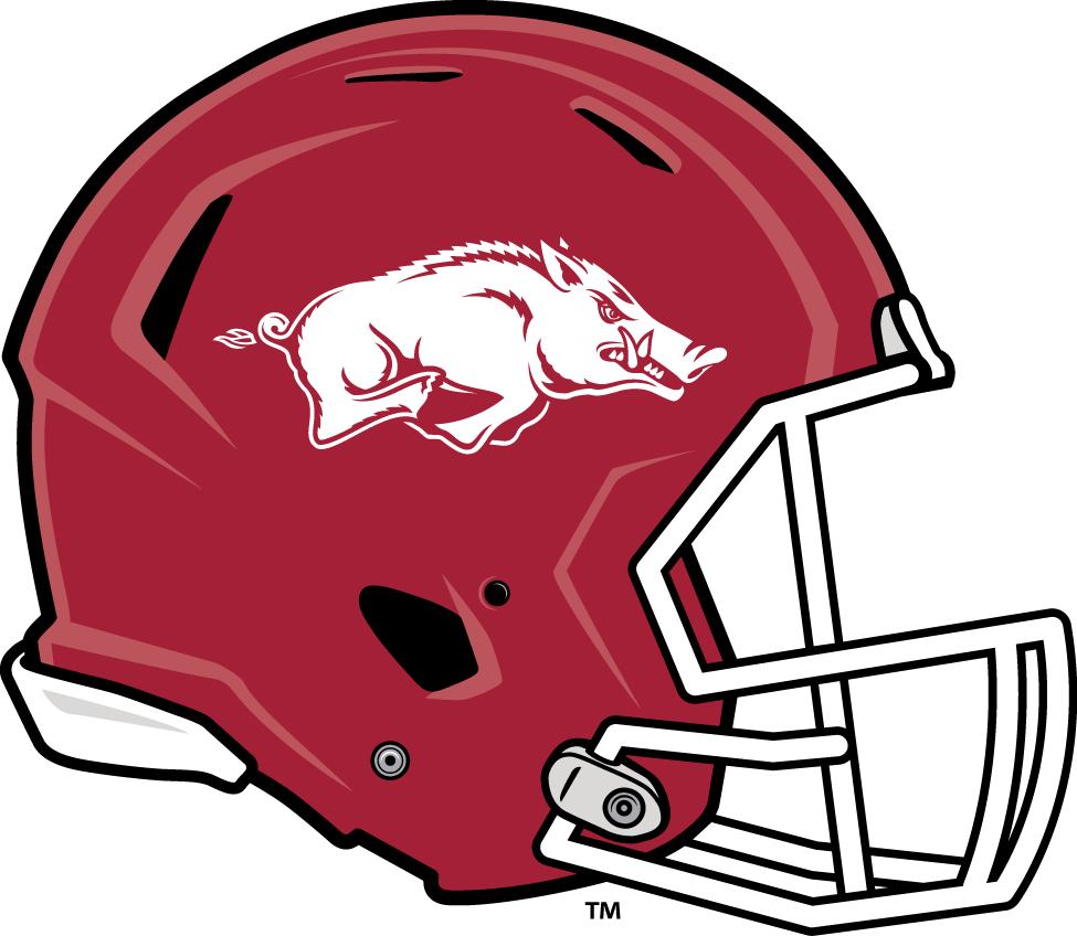 Arkansas Razorbacks Helmet Helmet (2014-Pres) -  SportsLogos.Net