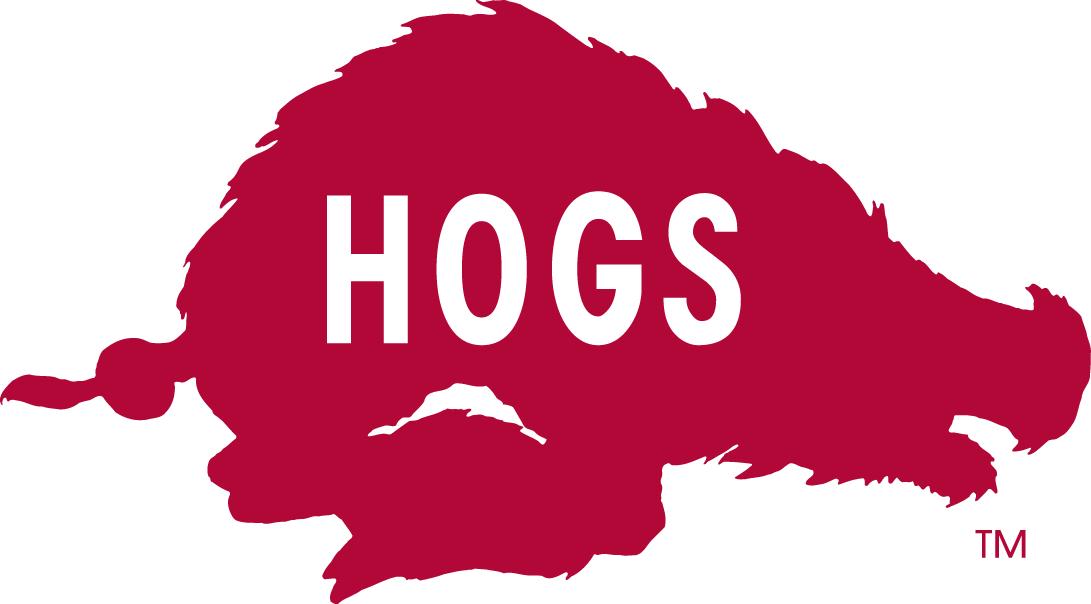 Arkansas Razorbacks Logo Alternate Logo (1966-1972) -  SportsLogos.Net