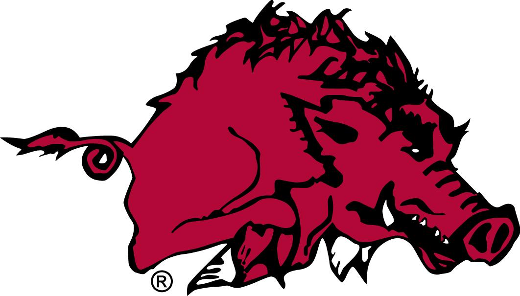 Arkansas Razorbacks Logo Primary Logo (1938-1946) -  SportsLogos.Net