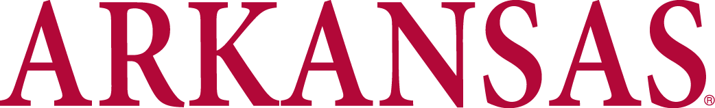 Arkansas Razorbacks Logo Wordmark Logo (1980-2000) -  SportsLogos.Net
