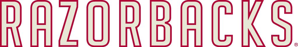 Arkansas Razorbacks Logo Wordmark Logo (1967-1974) -  SportsLogos.Net