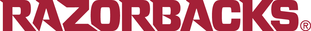 Arkansas Razorbacks Logo Wordmark Logo (2014-Pres) -  SportsLogos.Net