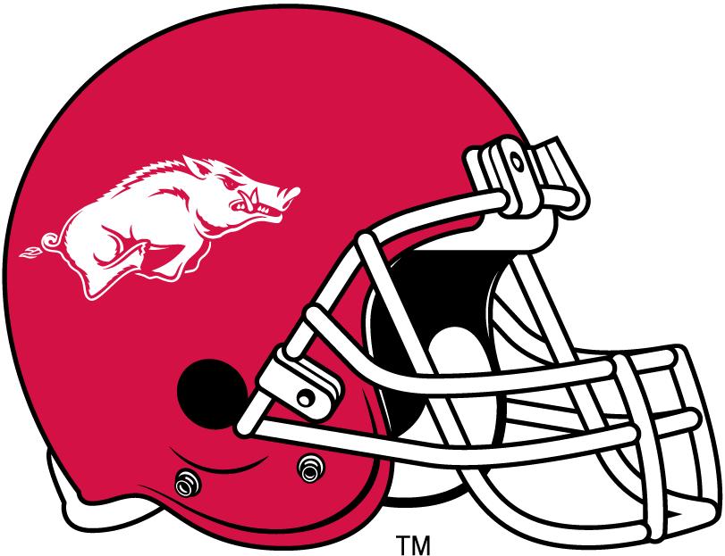 Arkansas Razorbacks Helmet Helmet (2001-2013) -  SportsLogos.Net