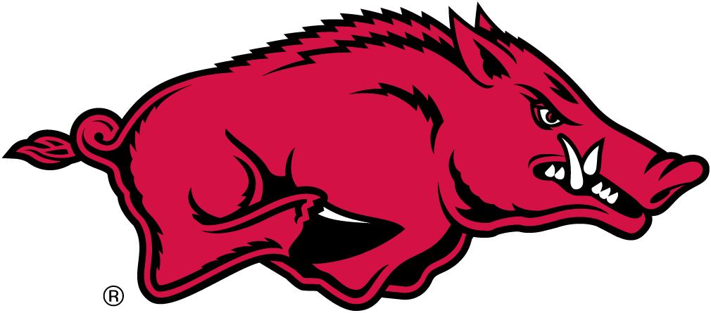 Arkansas Razorbacks Logo Primary Logo (2001-2013) - Running Razorback SportsLogos.Net