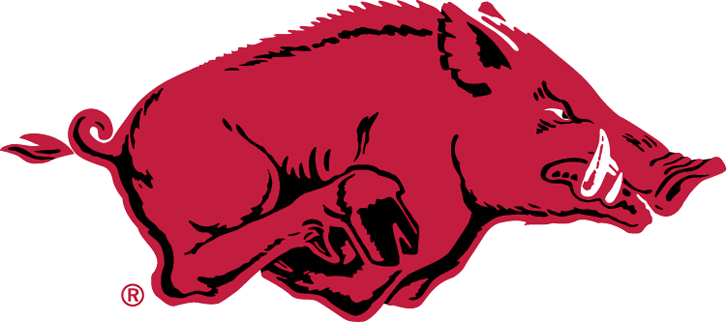 Arkansas Razorbacks Logo Primary Logo (1967-2000) -  SportsLogos.Net