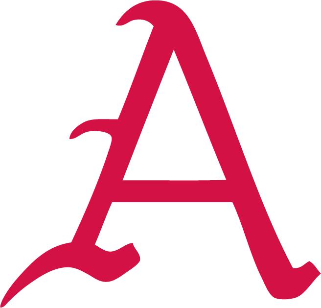 Arkansas Razorbacks Logo Alternate Logo (1932-2013) - Baseball letter logo SportsLogos.Net