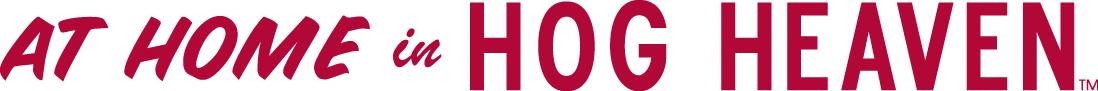 Arkansas Razorbacks Logo Wordmark Logo (1980-2000) -  SportsLogos.Net