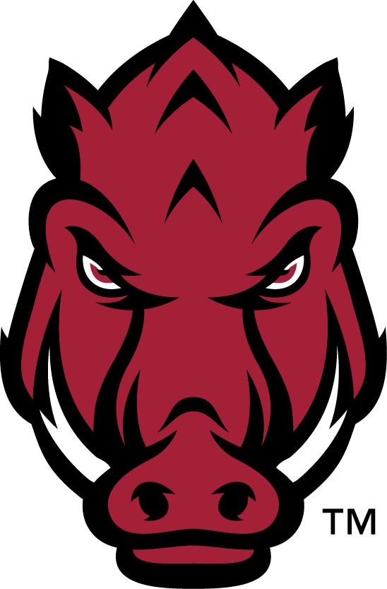 Arkansas Razorbacks Logo Secondary Logo (2014-Pres) -  SportsLogos.Net