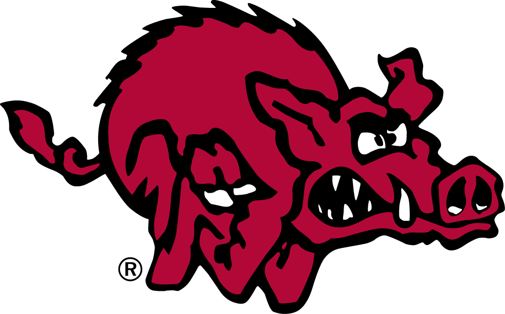 Arkansas Razorbacks Logo Alternate Logo (1980-1992) -  SportsLogos.Net
