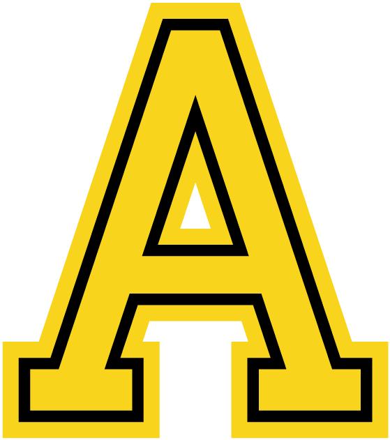 Army Black Knights Logo Alternate Logo (1962-1999) - A Gold A with black outline SportsLogos.Net
