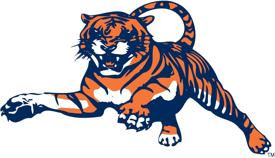 Auburn Tigers Logo Alternate Logo (1982-1997) - Lunging Tiger SportsLogos.Net