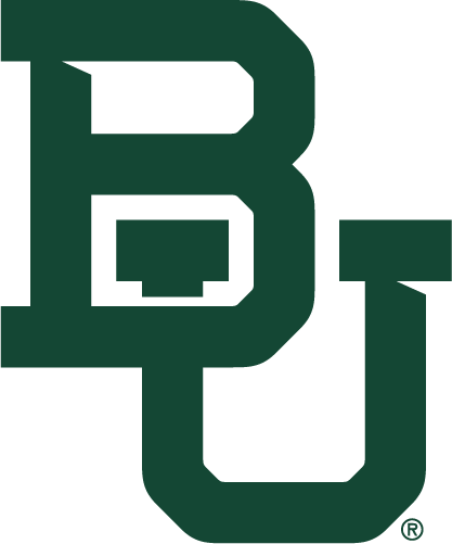 Baylor Bears Logo Primary Logo (2019-Pres) - Interlocked BU in green SportsLogos.Net