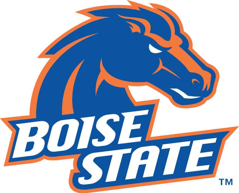 boise state broncos primary logo ncaa division i a c ncaa a c rh sportslogos net boise state logo clip art boise state logo pumpkin pattern