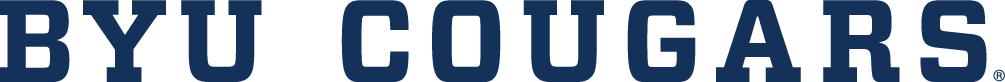 Brigham Young Cougars Logo Wordmark Logo (2015-Pres) -  SportsLogos.Net