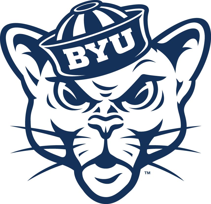 Brigham Young Cougars Logo Secondary Logo (2015-Pres) -  SportsLogos.Net