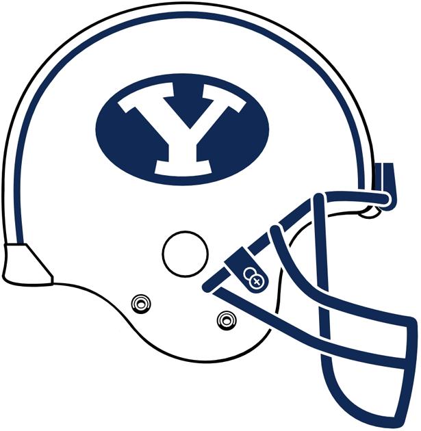 Brigham Young Cougars Helmet Helmet (2005-Pres) -  SportsLogos.Net