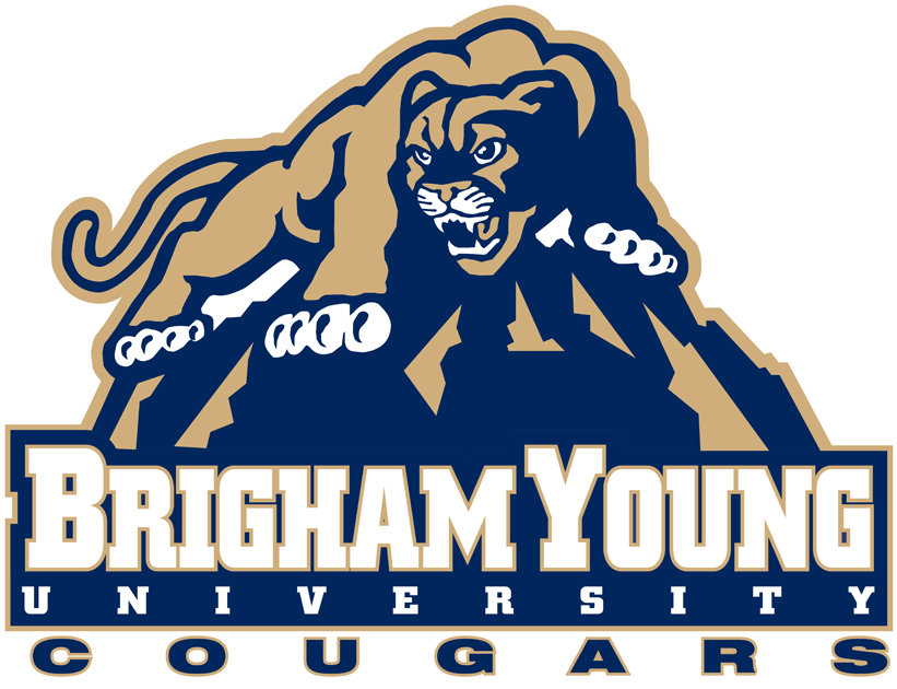 Brigham Young Cougars Logo Alternate Logo (1999-2004) -  SportsLogos.Net