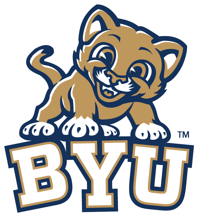 Brigham Young Cougars Logo Misc Logo (1999-Pres) - Kitten on BYU SportsLogos.Net