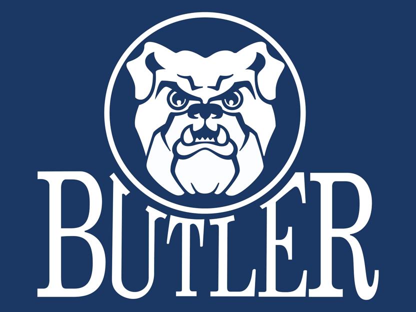 Butler Bulldogs Logo Alternate Logo (1990-2014) -  SportsLogos.Net