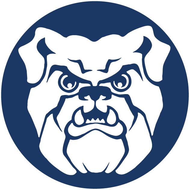 Butler Bulldogs Logo Secondary Logo (1990-2014) -  SportsLogos.Net