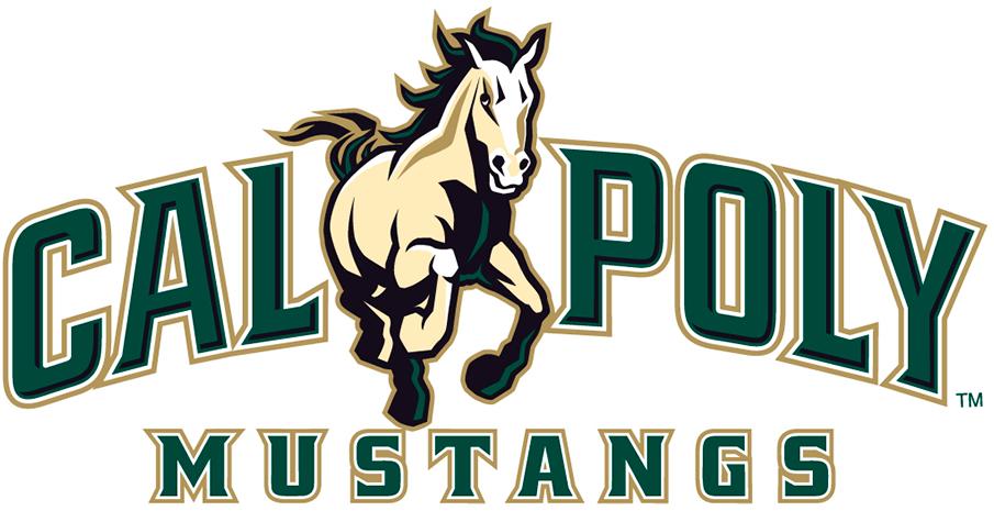Cal Poly Mustangs Logo Primary Logo (2007-Pres) -  SportsLogos.Net