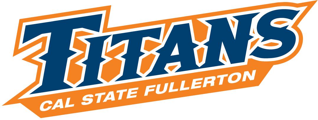 Cal State Fullerton Titans Logo Wordmark Logo (2010-Pres) -  SportsLogos.Net